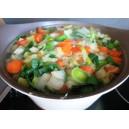 panier soupe de légumes